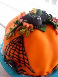 Halloween-kakku/ halloween-cake Bowser, Pudding, Baking, Halloween, Desserts, Food, Tailgate Desserts, Deserts, Custard Pudding