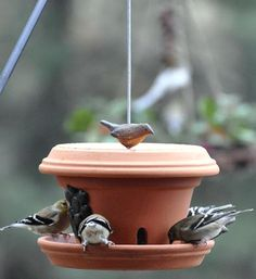 Birdfeeder   Think Clay Pots Are Only For Flowers? Think Again With These 13 Clever Ideas!