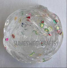 Bitsy Clear Fruit Salad Slime