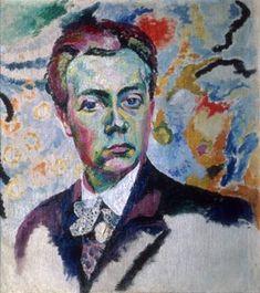 Robert Delaunay - Self-portrait, 1906.