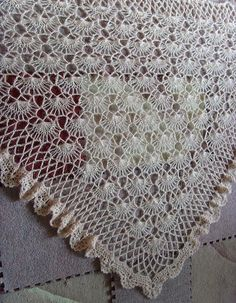 ALpavot's Hairpin Lace Shawl [ | <br/>    Hairpin
