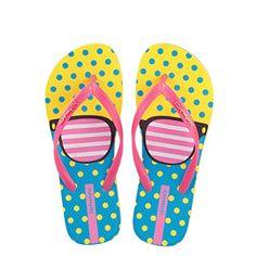6ec28d8e6821 Hotmarzz Women s Fashion Slippers Glasses Print Flat Flip Flops Summer  Beach Sandals Size 2 UK