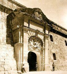 Verdala Barracks gate Malta 1898