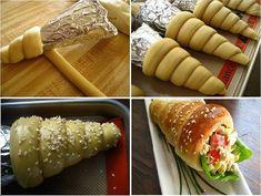 Ne a kürtős kalácsra gondolj! Bakery Recipes, Tart Recipes, Snack Recipes, Snacks, Beste Brownies, Bread Shaping, Bulgarian Recipes, Best Food Ever, Dessert Drinks