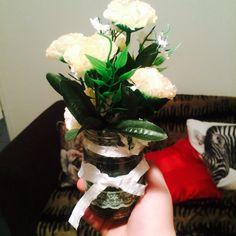 Flower Lace Jar