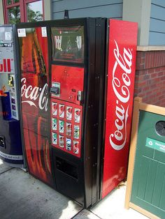 Coca Cola Vending Machine by The Upstairs Room, via Flickr