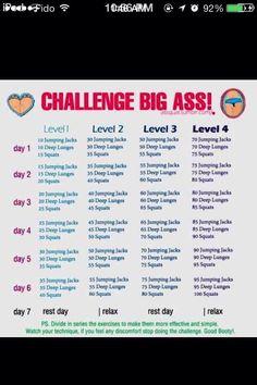Big Butt Challenge for u @Marsha Poischbeg lol