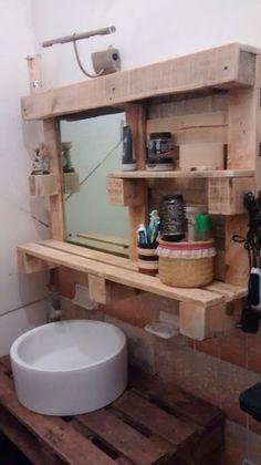 Repisa para baño