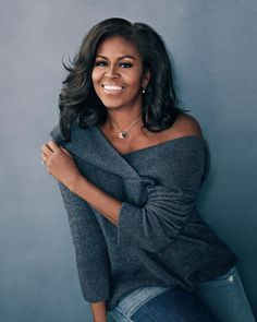 Michelle Obama Struggled to 'Keep Up with the Pace' While First Lady - simply beautiful Malia Obama, Michelle Und Barack Obama, Michelle Obama Fashion, Barack Obama Family, Beautiful Black Women, Beautiful People, Simply Beautiful, Durham, First Ladies