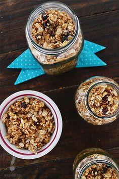 Granola casera Natalio Remolacho Granola, Cereal, Breakfast, Food, Gastronomia, Sweets, Deserts, Homemade, Eten