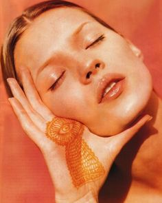 Kate Moss by Albert Watson for Vogue Germany June 1993.