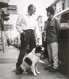 Lawrence Ferlinghetti,Gregory Corso | Flickr - Photo Sharing!