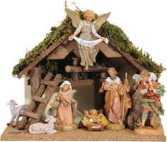 7pc Fontanini Nativity Set