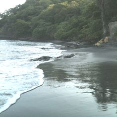Best sand ever! The black beaches of Costa Rica