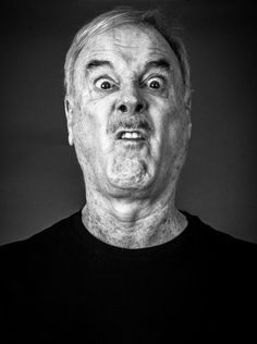 John Cleese (1939) - English actor, comedian, writer and film producer. Co-founder of Monty Python. Photo by Andy Gotts, 2014