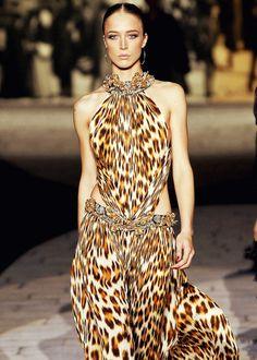 Raquel Zimmermann | Roberto Cavalli Spring/Summer 2007 | Milan