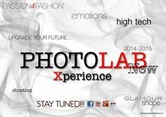 New Project PHOTOLAB Xperience. @Fashion Concept Models & Events
