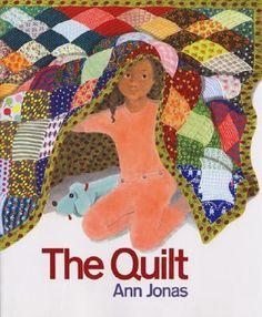 The Quilt ~ Ann Jonas (Spatial relations - Shape)