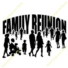 Clipart 12445 family reunion - family reunion mugs, t-shirts, picture mouse pads, & Family Reunion Quotes, Family Reunion Shirts, Family Roots, Family Day, Family Trees, Johnson Family, Black Families, Family Planning, Family History