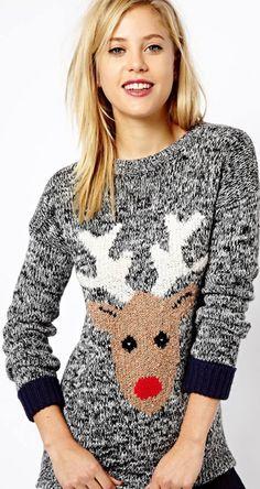 Reindeer sweater  tistheseason Cute Christmas Sweater 332e237cc