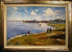Australian Artist James Best original Seaside oil painting James Best, Australian Artists, Seaside, Have Fun, Oil, The Originals, Painting, Beach, Painting Art