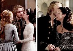 Francis II of France and Mary QoScots of Reign Toby Regbo Reign, Isabel Tudor, Reign Mary And Francis, Reign Quotes, Marie Stuart, Reign Tv Show, Mary Queen Of Scots, Mary I, Tauriel
