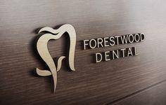 ForestWood Dental | Branding Portfolio | Toronto | Richmond Hill | North Toronto | www.magentadesign.ca Dental Clinic Logo, Dentist Logo, Dentist Clinic, Branding Portfolio, Dental Office Decor, Dental Technician, Lobby Furniture, Dental Office Design, Clinic Design