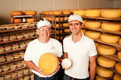 Mike Gingrich and Andy Hatch - Uplands Cheese Company Dodgeville, Wisconsin    Producers of Pleasant Ridge Reserve and Rush Creek Reserve, two traditional, artisan cheeses made on our dairy farm in Wisconsin. http://www.uplandscheese.com - justintrails.com