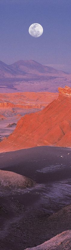 ♥ #Desierto de #Atacama Chile. http://reversehomesickness.com/south-america/atacama-driest-desert-on-earth/