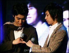 Kim Heechul, Siwon, China, Super Junior, How To Relieve Stress, Kpop, My Love, Couples, Rings