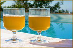 The Mexican Beach Cocktail - Corona, Three Olives Orange Vodka & Orange Juice