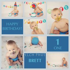 Boy cake smash photo session | Lindsey Welch Photography, Frederick MD