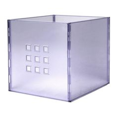 LEKMAN Box - clear - IKEA Storage for Quinn's bookcases/bench