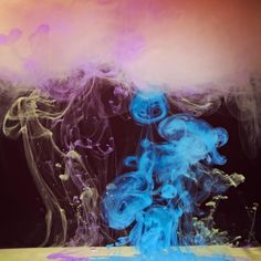 Nubes de Colores de Mark  Mawson