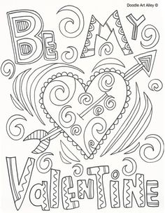 Valentines Coloring Pages for Adults Inspirational Valentines Day Coloring Pages. Valentines Coloring Pages for Adults Inspirational Valentines Day Coloring Pages Doodle Art Alley Printable Valentines Coloring Pages, Valentines Day Coloring Page, Free Printable Coloring Pages, Valentine Day Crafts, Be My Valentine, Valentines Coloring Sheets, Valentine Doodle, Saint Valentine, Cute Coloring Pages
