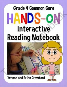 Interactive Reading Notebook Hands-On Fourth Grade $