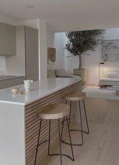 Home Room Design, Dream Home Design, Apartment Interior, Kitchen Interior, Aesthetic Room Decor, Cuisines Design, House Rooms, Home Kitchens, Interior Design