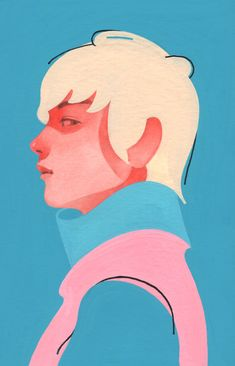 supersonicart: A K A Outwork New Paintings. - It's All Downhill From Here Dm Poster, Character Art, Character Design, Amazing Drawings, Portrait Illustration, Drawing People, Graphic Design Illustration, Art Inspo, Illustrators