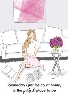 Home Decor Art per le donne Home è il di RoseHillDesignStudio