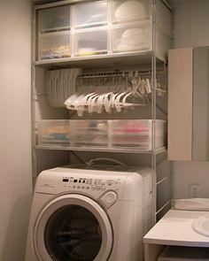 毎日使う場所であるお風呂。 洗濯機やバスタオルなどいろいろと置いてる人も多いでしょう。 毎日使う場所だからこそ綺麗に使いやすくしたいですね! そこでランドリー収納を紹介させていただきます。 あると便利なもの、見ておしゃれだと感じたものをまとめさせていただきましたので参考にでもなればいいなと思います!