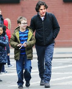 Paul Rudd and his son Jack, 6, took an after-school walk in NYC Jan. 17.