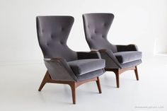Adrian Pearsall Wing Chairs for Craft Associates image 5