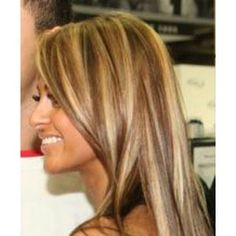 high/low lights Hair Color and Makeover Inspiration
