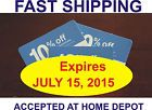(x10) Lowes Coupons 10% Off Home Improve Depot Card. Exp July 15, 2015 - http://couponpinners.com/coupons/x10-lowes-coupons-10-off-home-improve-depot-card-exp-july-15-2015/
