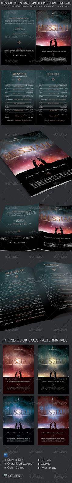Messiah Christmas poster