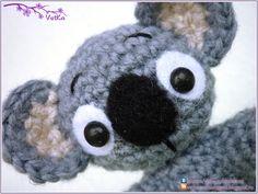 Koala Amigurumi ~ Free Russian Pattern