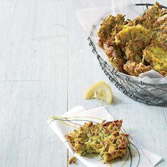 Zucchini-Ricotta Fritters | Food & Wine