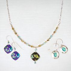 Holly Yashi - Monet's Garden Beaded Necklace | $48