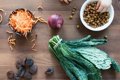 Roasted Chickpea Kale Salad with a Creamy Dressing • Joyous Health