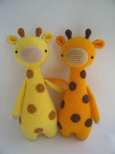Giraf  amigurumi haakpatroon by LittleBearCrochets | Etsy